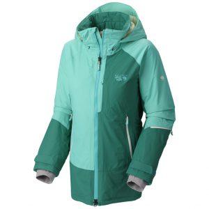 Vanskier Jacket - W - Bright Emerald