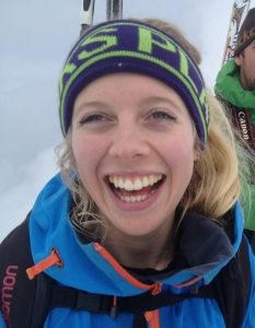 Ski Instructor turned Freeride World Qualifier contestant Amy Marwick