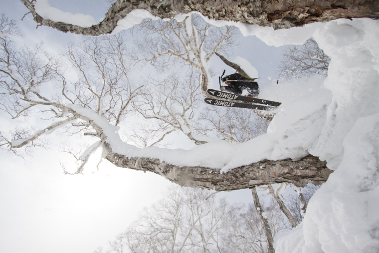 No surprises here: Jonny's off to Japan! |Photo Hanazono Resort Niseko Photography