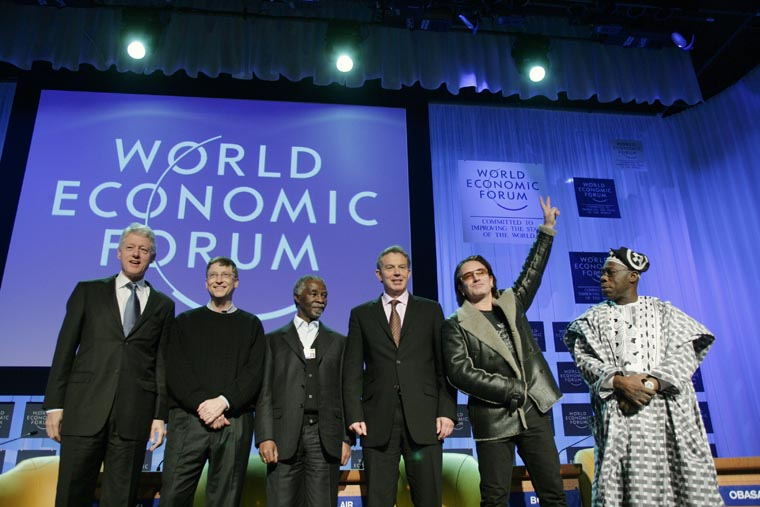 Davos - where you're most likely to spot the world's most powerful. And Bono. | World Economic Forum/swiss-image.ch