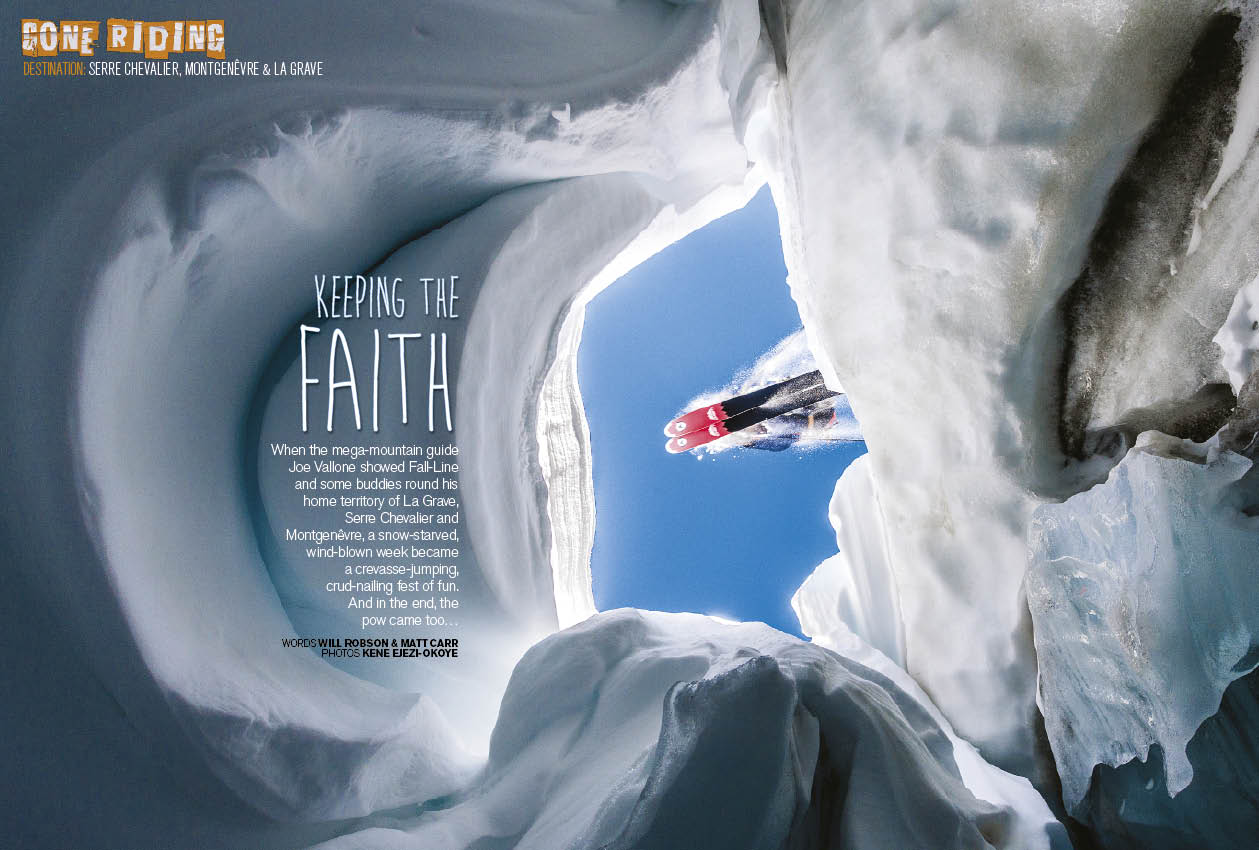 Fall line issue 131 fall line skiing magazine crevasse jumping crud nailing fun in serre chevalier montgenevre and la grave freerunsca Image collections