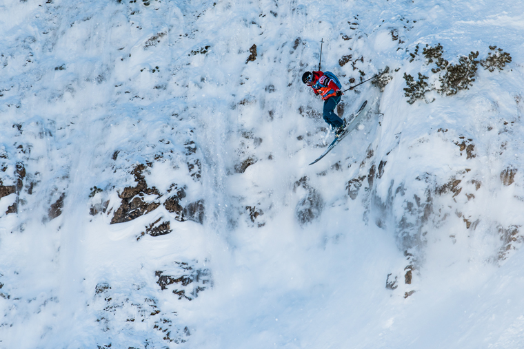 Silvia Moser tackles tricky conditions in Fieberbrunn