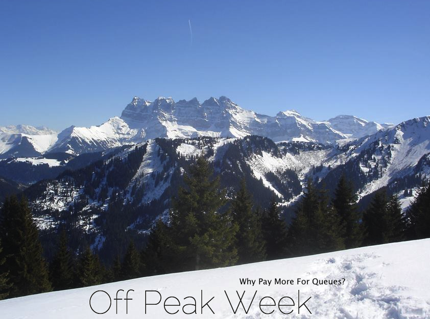 Promotion why pay more for queues fall line skiing magazine off peak week is a new ski chalet agency specialising in chalet holidays in the quieter times we offer chalets to suit a range of budgets in different ski freerunsca Image collections