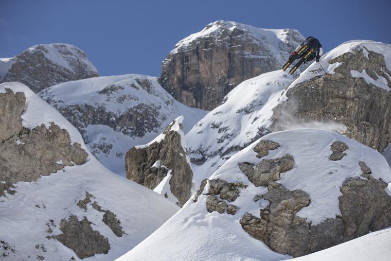 Kim goes for a bird's-eye view of Arabba | Armada skis