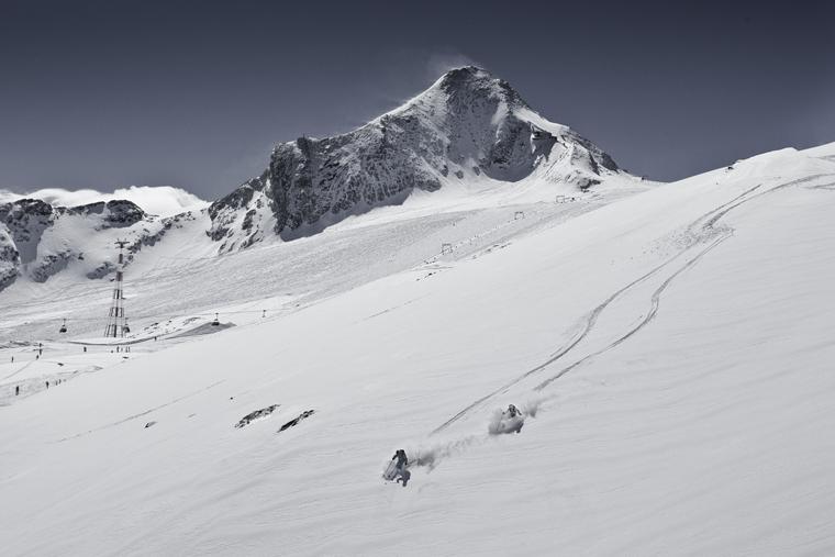 Where untouched powder awaits... | Niki Faistauer