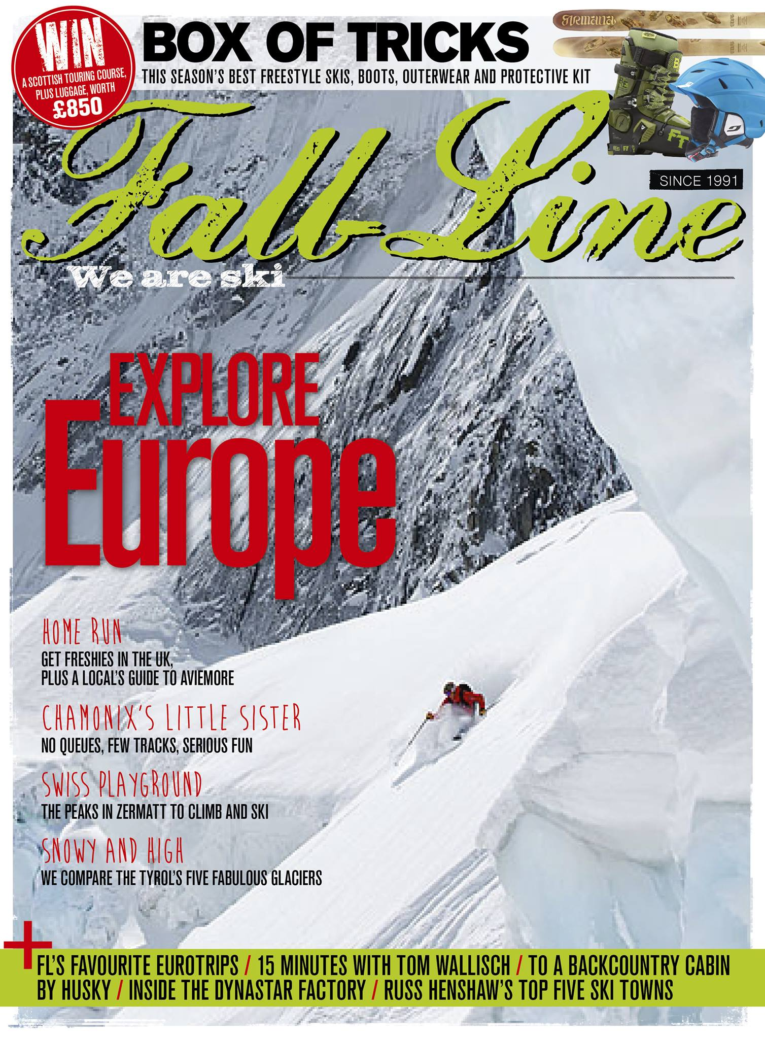 Explore Europe's best spots in issue 130 of Fall-Line, which you can order here