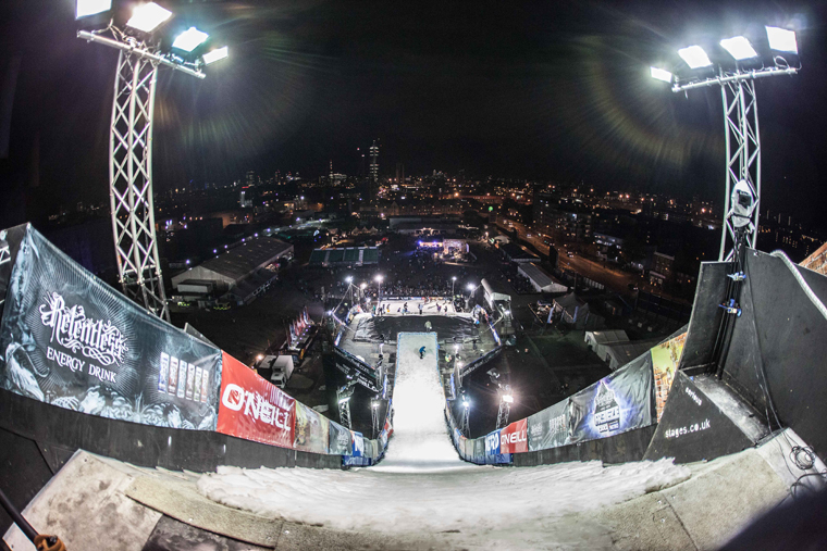 Expect impressive trickery from the world's best riders at Freeze Big Air