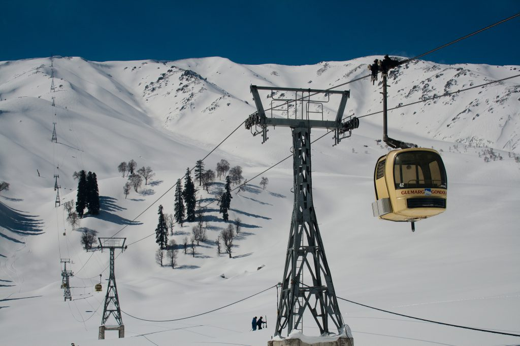 The highest ski lift in the world | Yanik Turgeon via Creative Commons