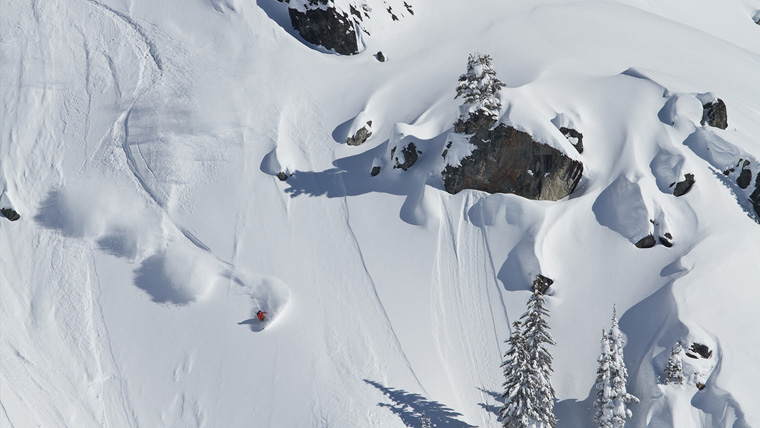 Want lines like this? Try a freeride camp | Eagle Pass Heliskiing