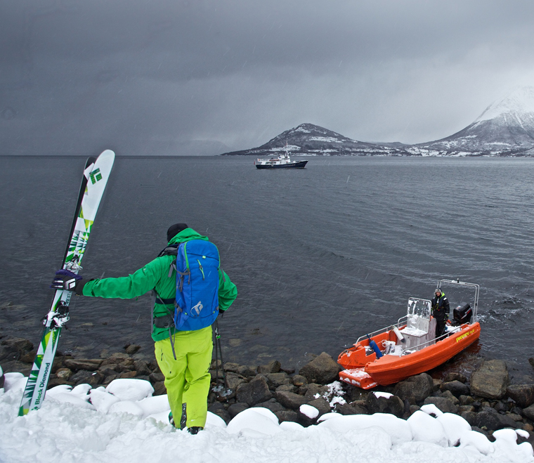 Take the boat to powder| Will Robson