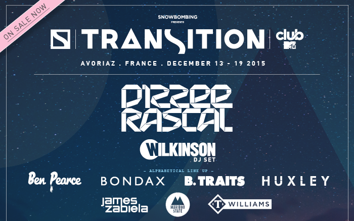 Dizzee Rascal headlines new Transition Festival