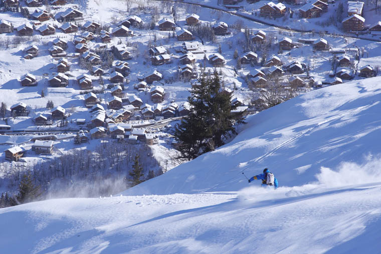 Element take the risk out of December trips to Meribel |3 Vallées / David Andre