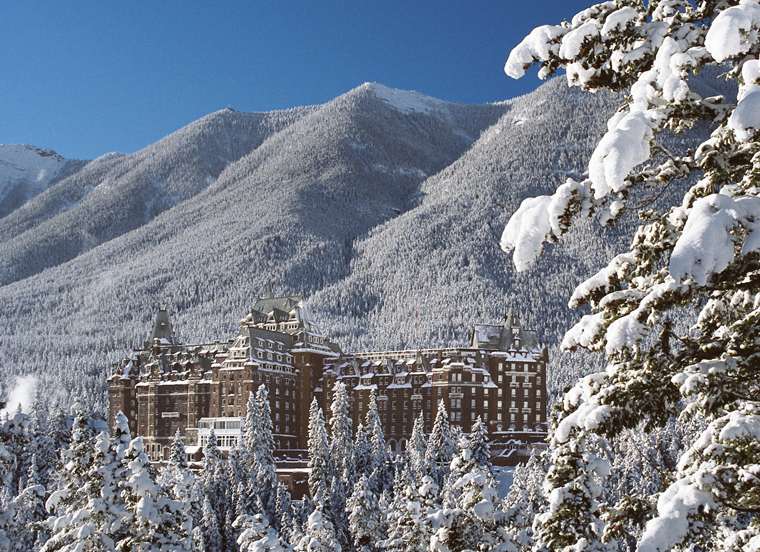 Save on a stay at 5* Fairmont Banff Springs