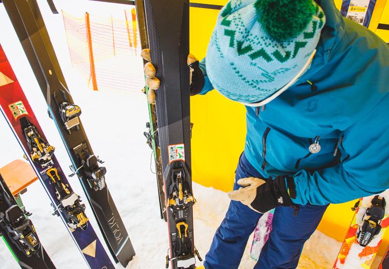 Fall-Line's backcountry editor Martin checks out Völkl's touring range | Callum Jelley