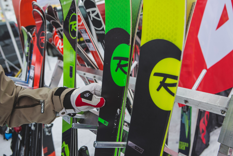 Published Dickie checks out Rossignol's freeride range