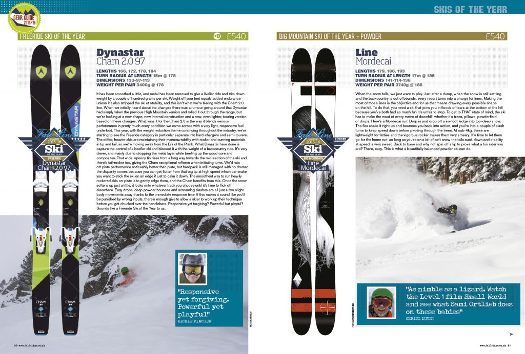 Skis 36-37