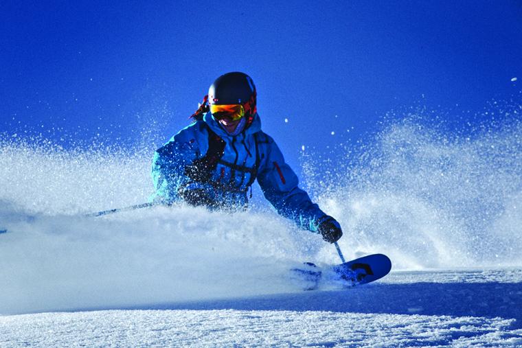Testing Scott's freeride ski collection | Courtesy of Scott Sports