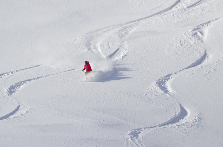 Want to find lines like these? Just chat to your neighbours on the chairlift... | Chris Moseley