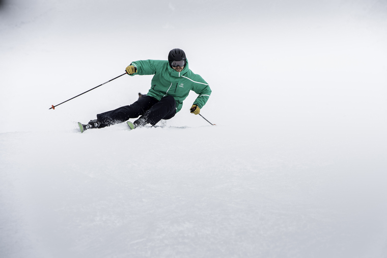 Get low... |Courtesy of Rossignol