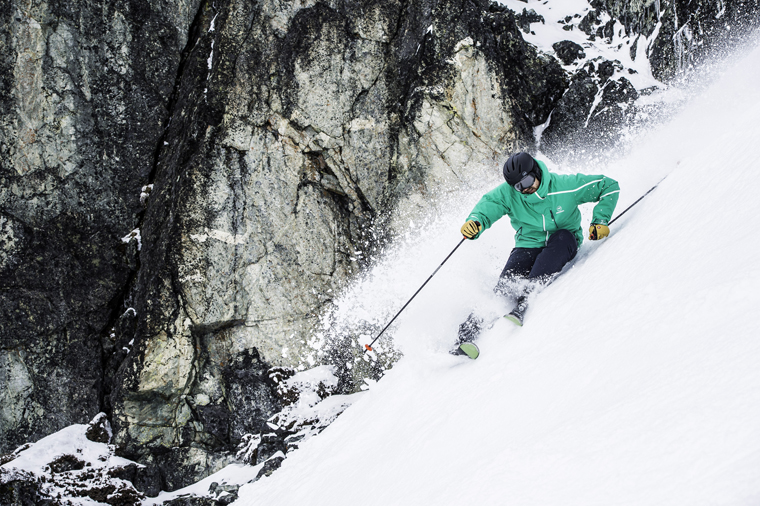Use the mountain's terrain to charge faster | Courtesy of Rossignol