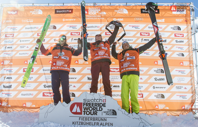 George Rodney celebrates one of his 2015 victories | Dom Daher / FWT