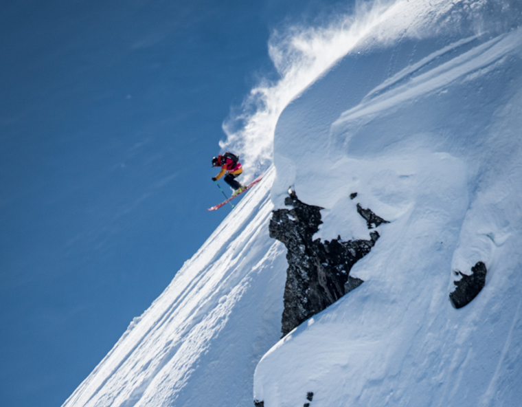 Sam Smoothy rips it Haines, Alaska | David Carlier / FWT
