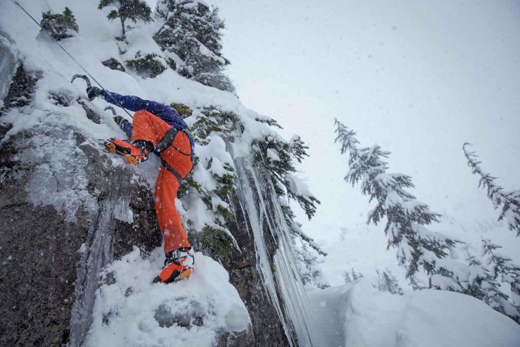 The Procline is built just as much for mountaineering as for skiing