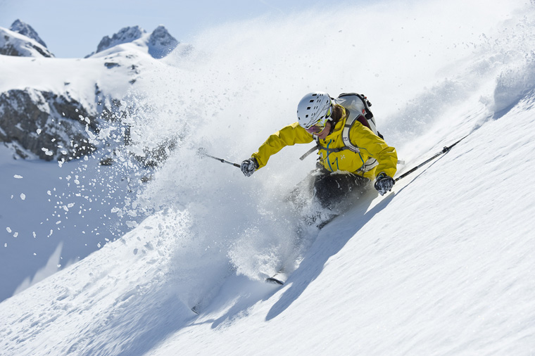 Brilliant freeride terrain + few powder hounds = off-piste paradise | Alexander Kaiser