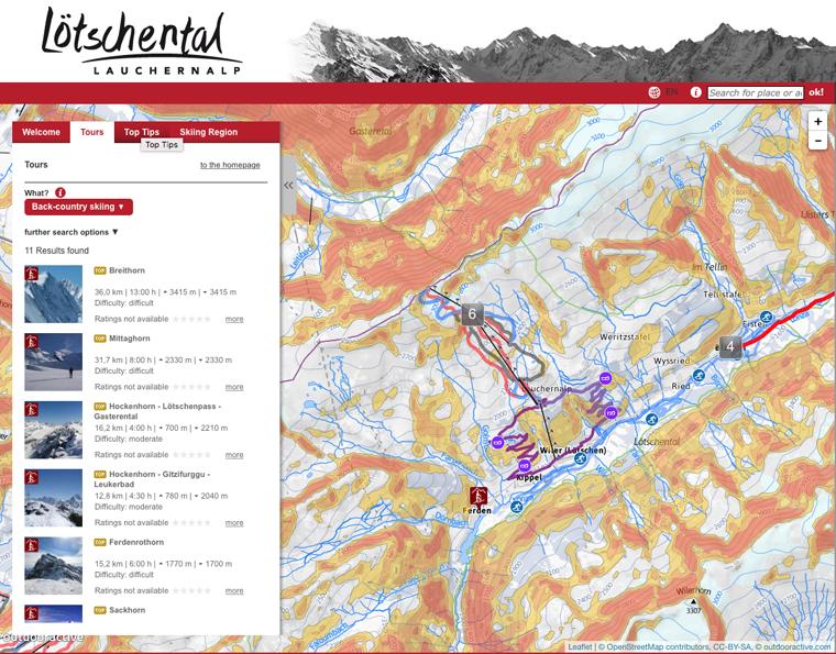 Lotschental website