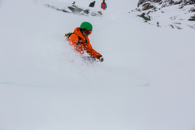 Brightly coloured helmets make you more noticeable to other skiers | Callum Jelley