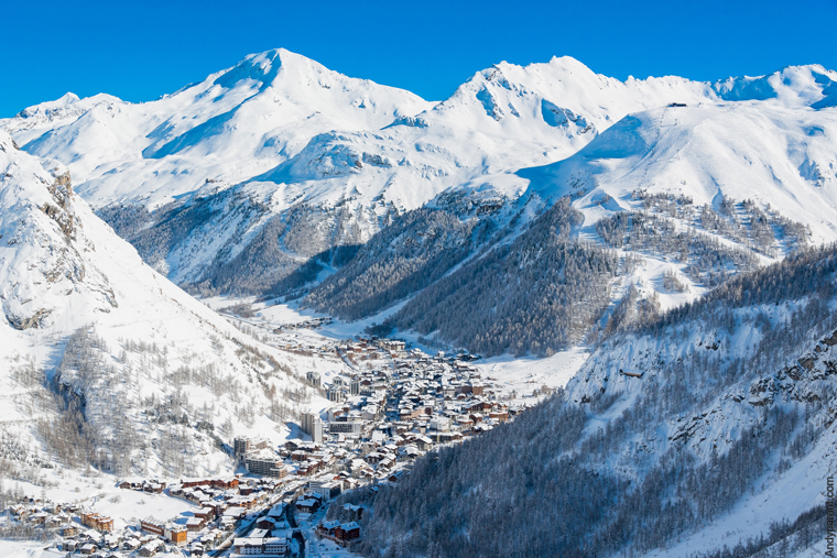 One of the Alps' most popular ski spots |Office du Tourisme Val d'Isère