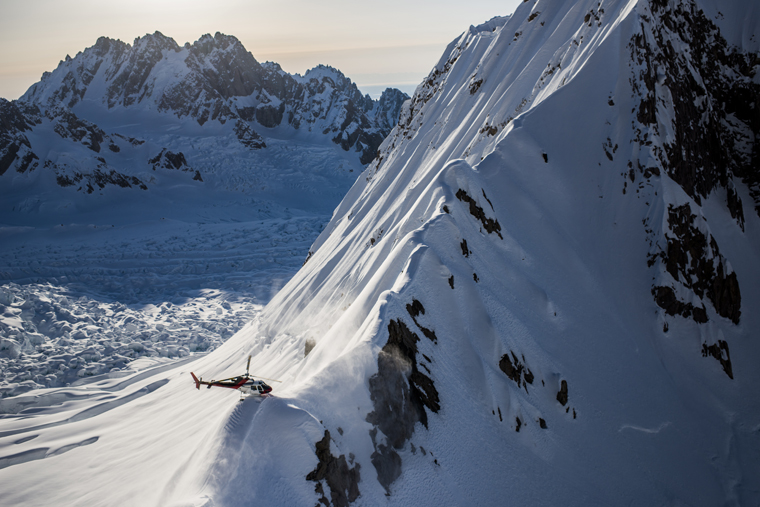 Your group will determine the kind of terrain you end up skiing | Blake Jorgenson/Red Bull Content Pool