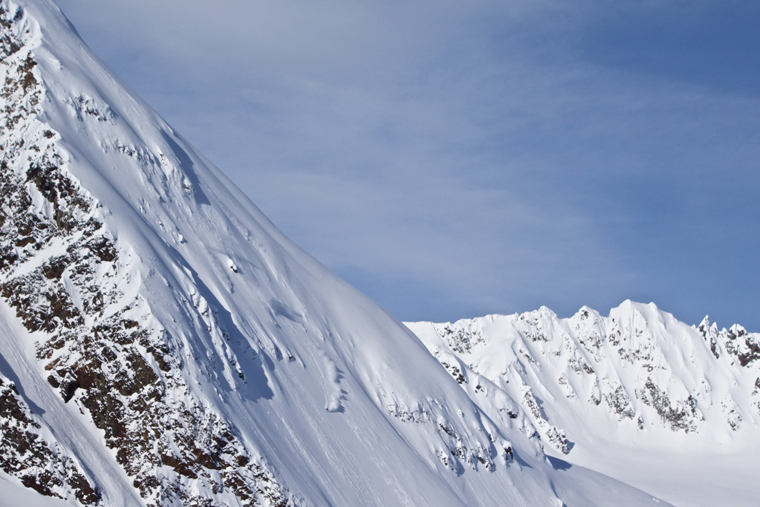 Jérémie Heitz nails a big mountain line | Martin Winkler / Zero Division