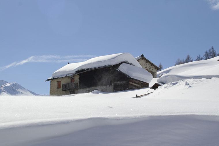 Expect snow even in April |Mottini Mario