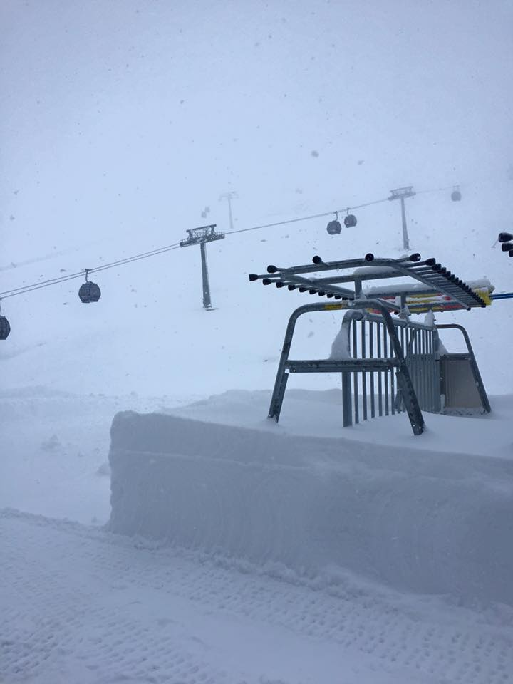 Hintertux Glacier, in the Austrian Tyrol scored 50cm of new snow over the weekend | facebook.com/Hintertux.Glacier