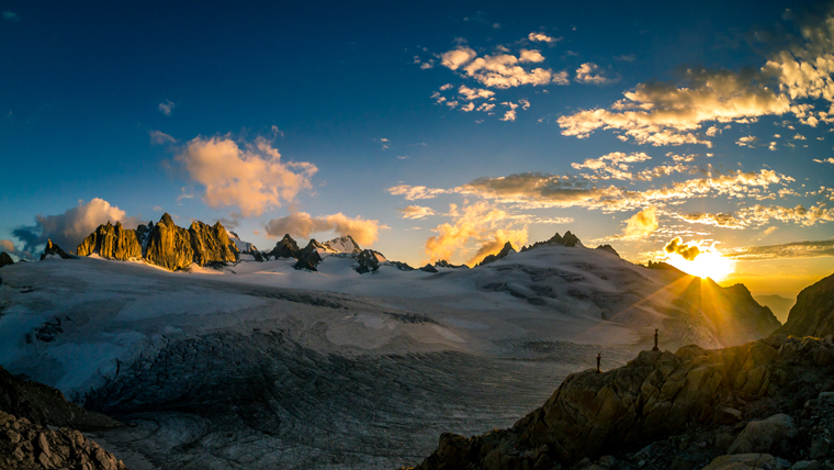 The Trient glacier in summer | Eric Jeker