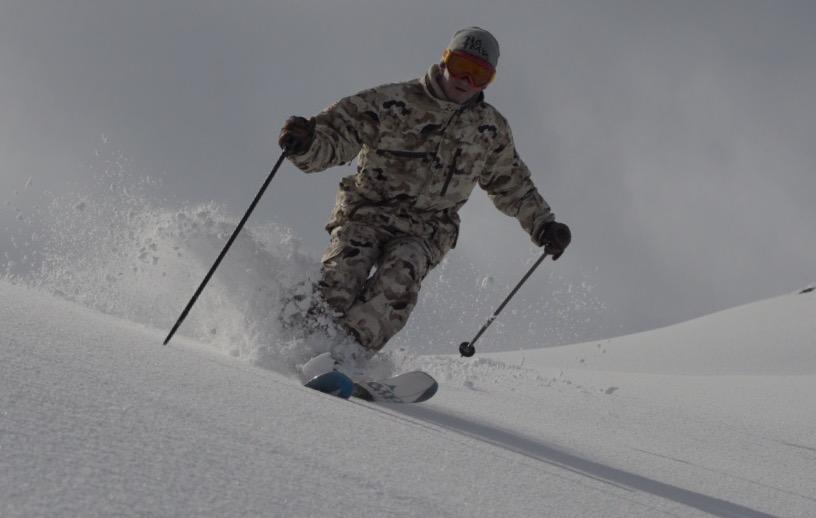 Eddie skiing last year | Konrad Bartelski