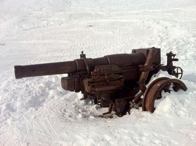 Gun snow