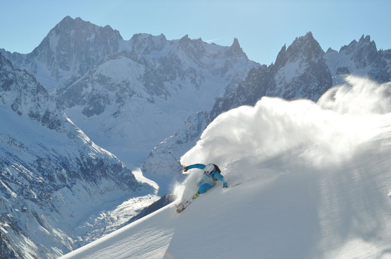 Want Chamonix's steeps on the cheap? Just stay down the road... | Chamonix Tourist Office / Christophe Henry