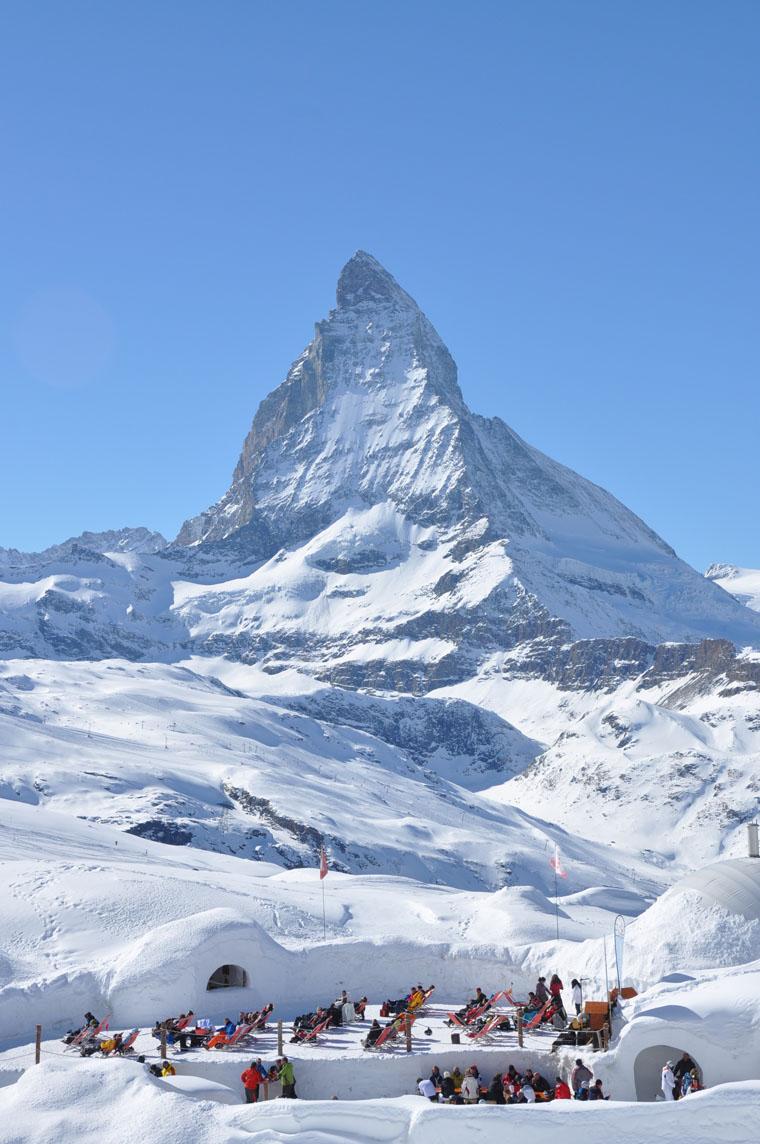Zermatt's glacier takes the risk out of spring skiing | Iglu Dorf