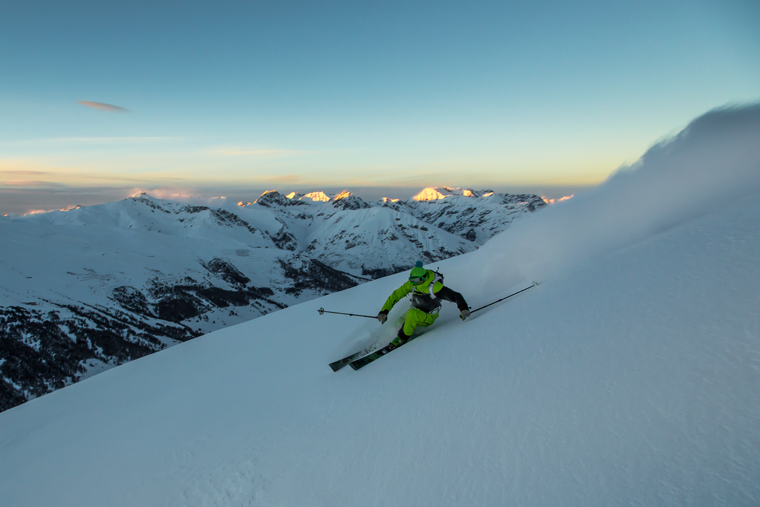 Freeride routes are plentiful… but take care, as the name Livigno comes from Lawine (avalanche) | Whitehearts.de