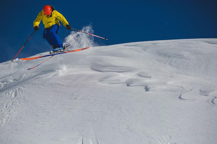 Ian on the latest Salomon skis | Callum Jelley