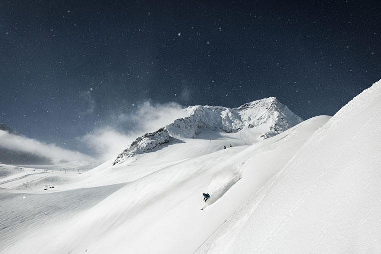 Innsbruck's snowy back-up plan |Stubaier Gletscher
