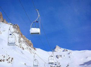 most famous chairlift in the Andes