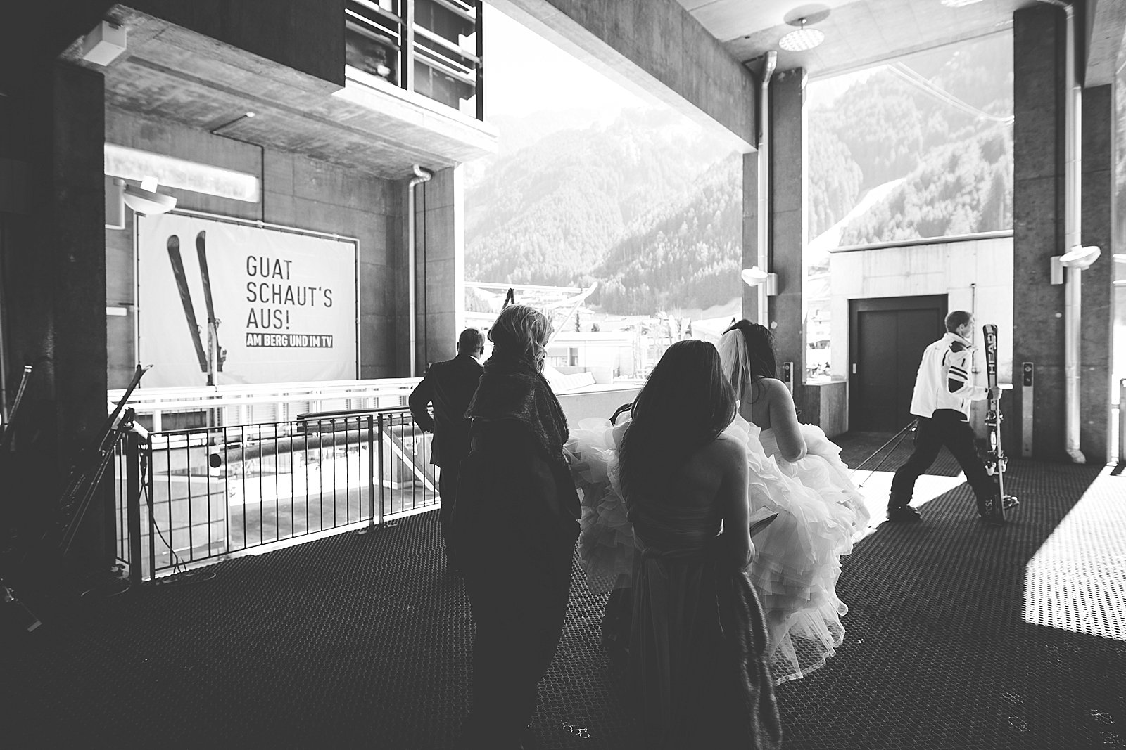 Wild Connections Photography ski wedding 2