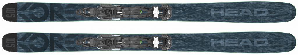 2017/2018 Head Kore 105 ski product shot