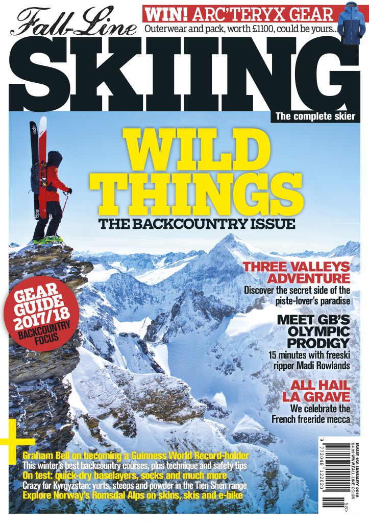 Fall-Line Skiing magazine backcountry issue 2018 cover