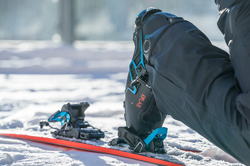 Salomon S/LAB Shift binding in touring mode