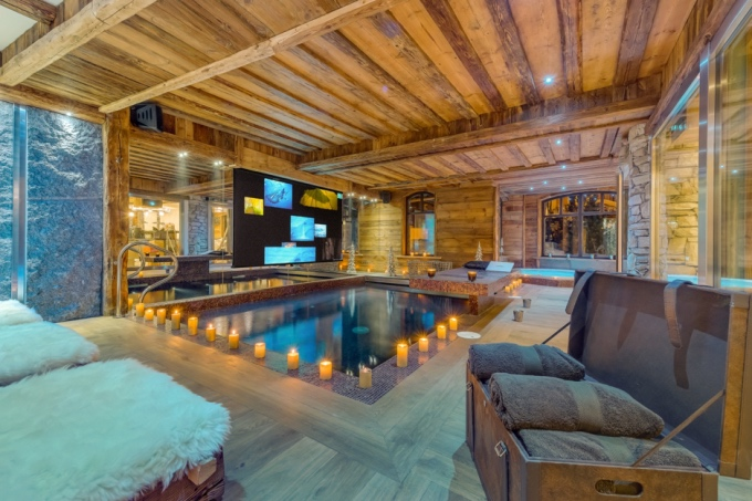 coolest chalet pools