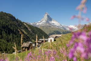 SUMMER Skiing Zermatt